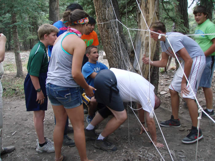 low ropes challenge redcloud