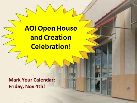 AOI Open House and Creation Celebration @ Alpha Omega Institute | Grand Junction | Colorado | United States