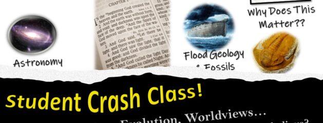 Student Crash Class – Aug 4th